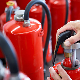 Fire Extinguishers Refilling Recharge Services