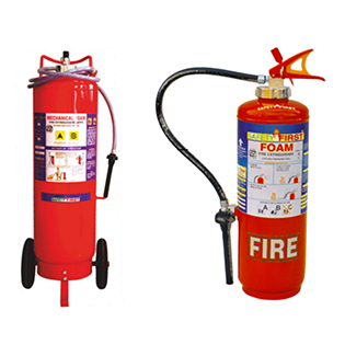 Mechanical Foam Fire Extinguishers